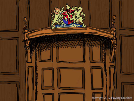 Wind in the Willows: Court Room