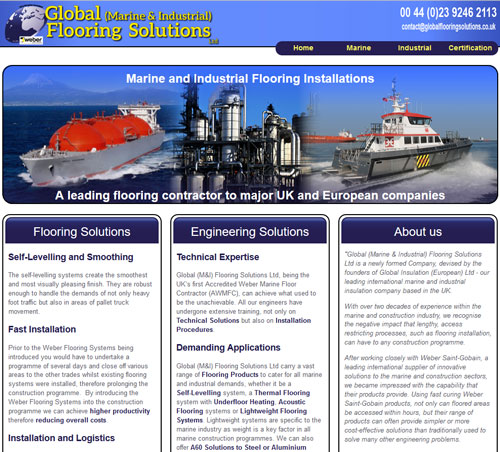 Global (Marine & Industrial) Flooring Solutions